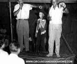 Duke of Paducah Circus Sideshow