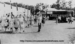 Duke of Paducah Circus midqat 1960