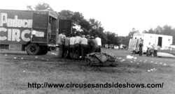 Duke of Paducah Circus 1960