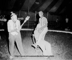 Clowns: Archie Silverlake, Dick Loter and Jerry.