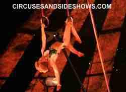 franzeb Circus Roman Rings