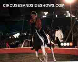 Franzen Circus Horse Act