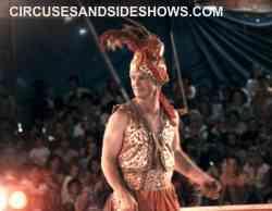 franzen Circus performer