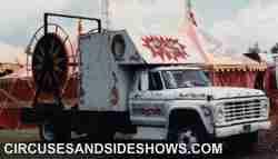 Franzen Circus spool truck