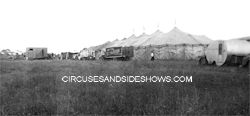 Mills circus in Elkhart IN. 1947