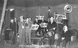 Mills Bros Circus band with guest musicians, June 3, 1946