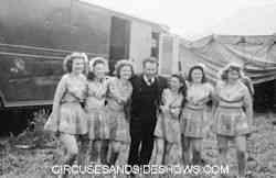 Mills Bros Circus performers