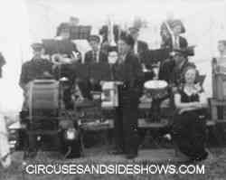 The Mills Circus band
