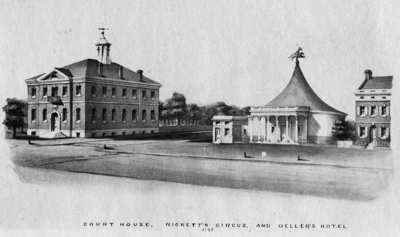 Ricketts Circus in Philadelphia