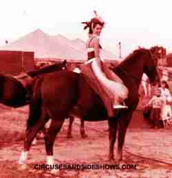 Barbara Fairchild on King Bros Circus