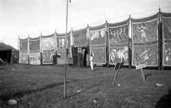 Barnett Bros. Circus Sideshow