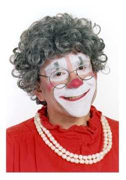 Grandma Circus Clown