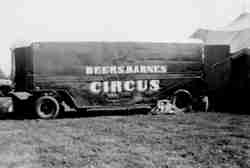 Beers and Barnes Circus show truck