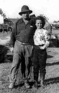 Ben Davenport with his daughter Norman Davenport Cristiani