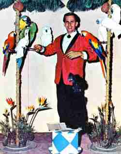 Billy Rodgers Circus Bird Act
