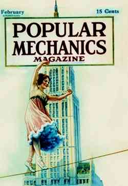 Bird Millman on Popular Mechanics Cover