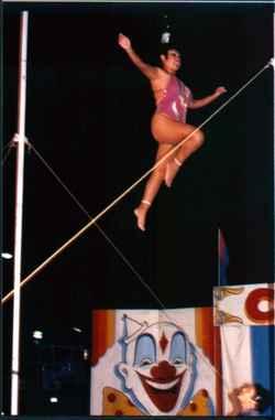 Circus Hair Hang Marina Boyd