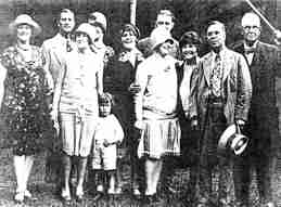 Charles Sparks and family
