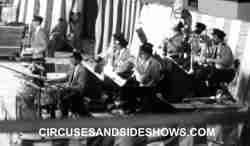 Chuck Schlarbaum and the Clyde Beatty Cole Bros Circus Band