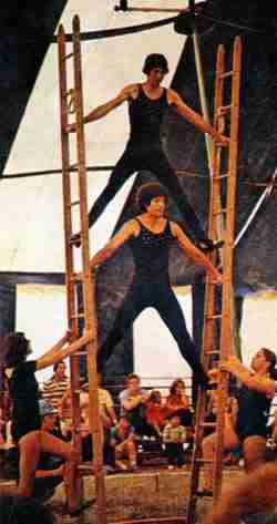 Circus Kirk ladder act