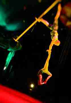 Circus Smirkus aerial perch act