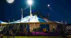 Circus Smirkus under the tent