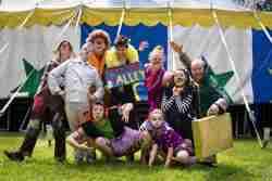 Circus Smirkus cast