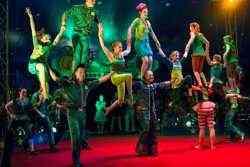 Circus Smirkus tumbling act
