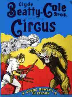 Clyde Beatty Cole Bros Circus
