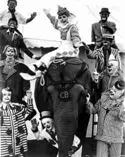 Clyde Beatty Cole Bros. Circus Clowns