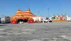 Cole Bros Circus midway 2013