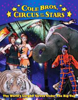 Cole Bros Circus Program 2012