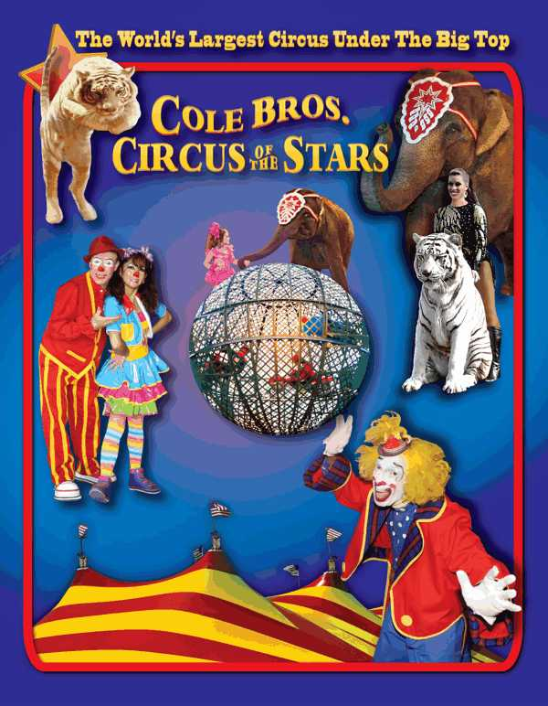 cole bros circus circus of the stars johnny pugh. Black Bedroom Furniture Sets. Home Design Ideas