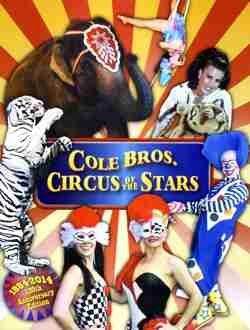 Cole Bros Circus of the Stars 2014 program