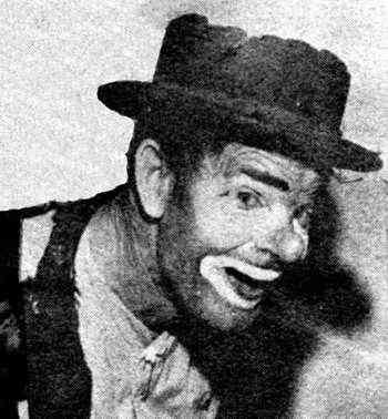 Circus clown Danny Chapman