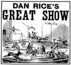 Dan Rice Circus Poster