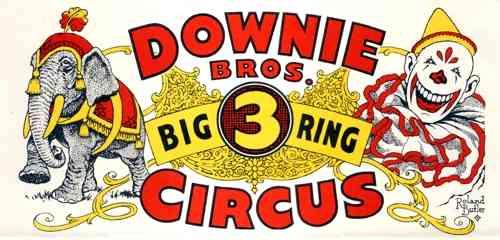 Downie Bros. Circus Letterhead