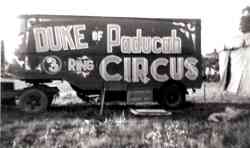 Duke of Paducah Circus Circus
