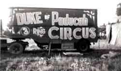 Duke of Paducah Circus Circus