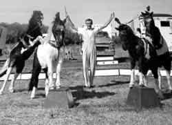 Eddie Hendricks Circus Bartok pony act