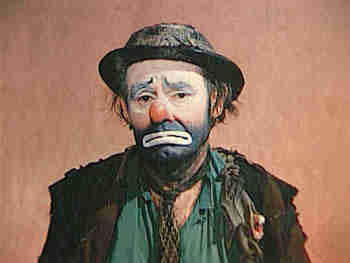 Famous Circus Clown Emmett Kelly