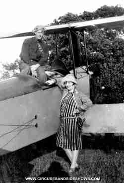 Esma and 1st husband pilot Al Wilson