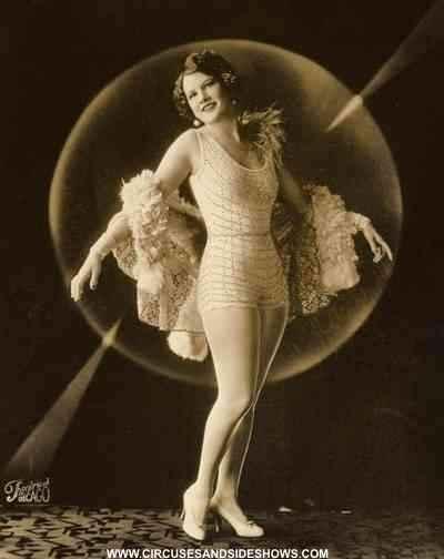 Circus trapeze star Esma Wilson Maley