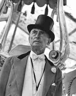 Circus ringmaster Fred Bradna