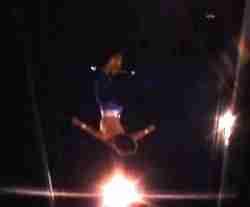 Aerialist Freddie White