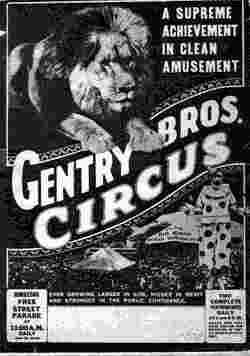 Gentry Bros Circus