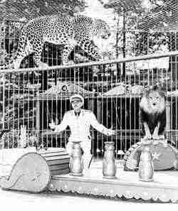 Animal Trainer George Keller