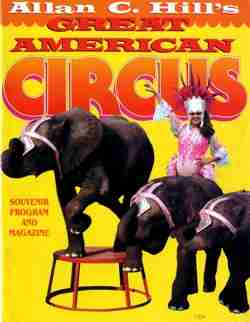 Great American Circus Program