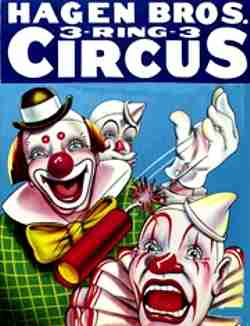 Hagen Brothers Circus Poster