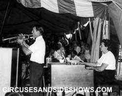 Harry Shell and Isla Garcia King Bros. Circus 1962